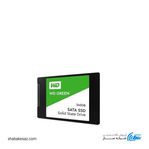 حافظه SSD اینترنال وسترن دیجیتال مدل GREEN با ظرفیت 240گیگ