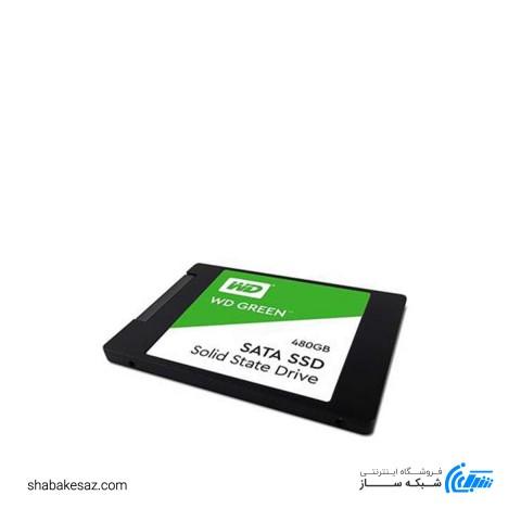 حافظه SSD اینترنال وسترن دیجیتال مدل GREEN با ظرفیت 480 گیگ