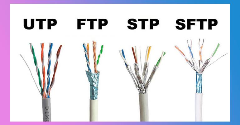 آشنایی با انواع کابل های TP