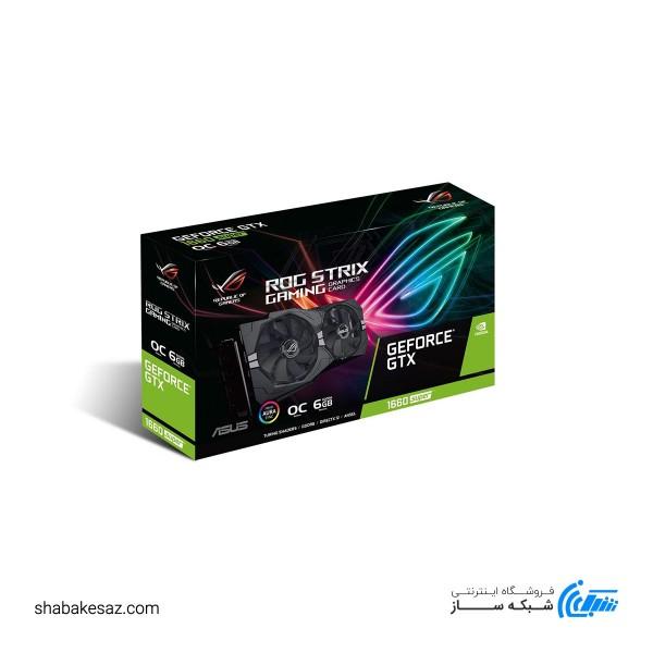 کارت گرافیک ایسوس مدل ROG STRIX GTX1660S-O6G GAMING