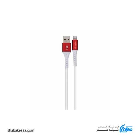 کابل تبدیل USB به لایتنینگ سیبراتون مدل S125i طول 0.25 متر