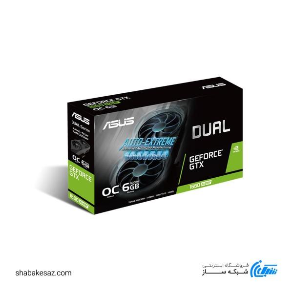 کارت گرافیک ایسوس مدل DUAL-GTX1660S-O6G-EVO