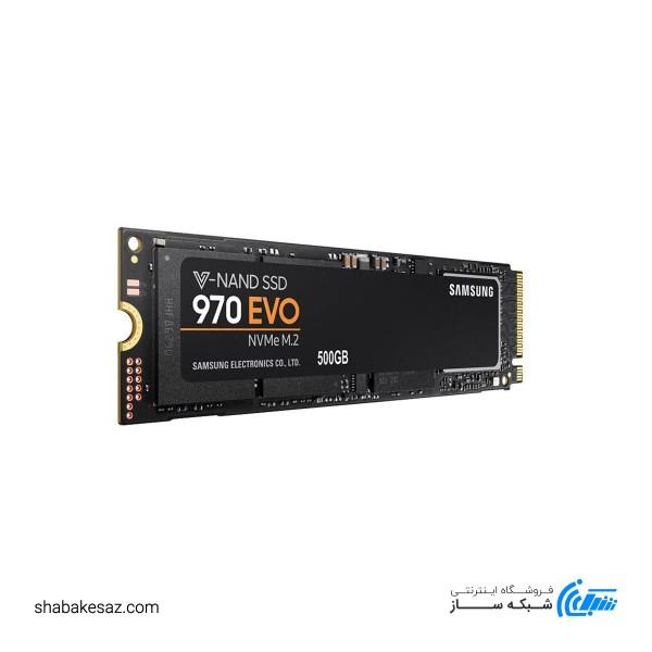 اس اس دی اینترنال سامسونگ مدل 970 EVO ظرفیت 500 گیگابایت