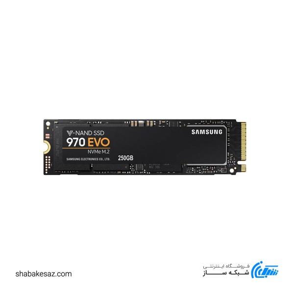 اس اس دی اینترنال سامسونگ مدل 970 EVO ظرفیت 250 گیگابایت