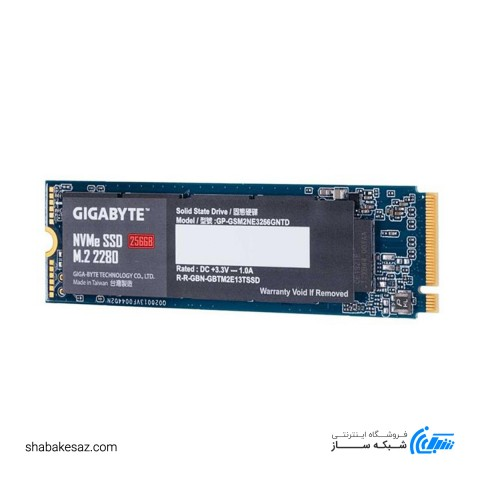 اس اس دی اینترنال گیگابایت مدل M.2 PCIe SSD 256GB