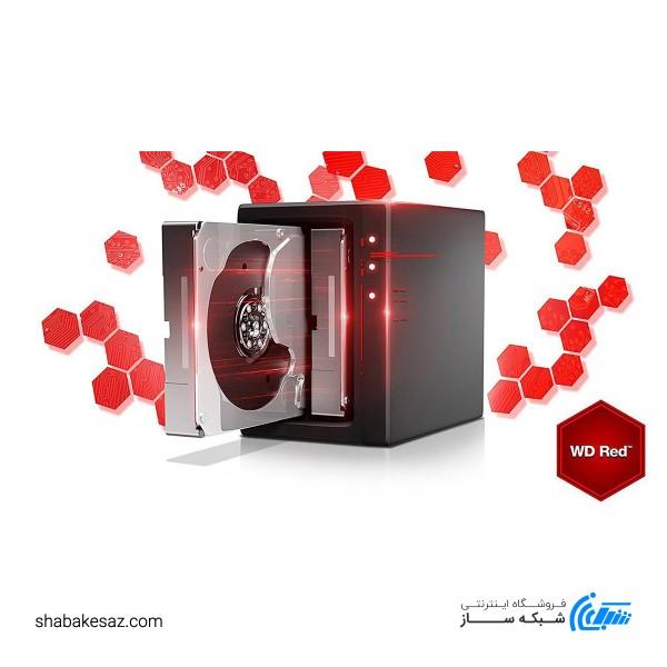 هارددیسک اینترنال وسترن دیجیتال مدل Red WD20EFRX ظرفیت 2 ترابایت