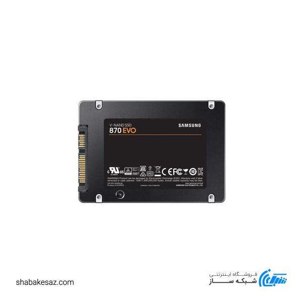 اس اس دی اینترنال سامسونگ مدل EVO 870 ظرفیت 500 گیگابایت