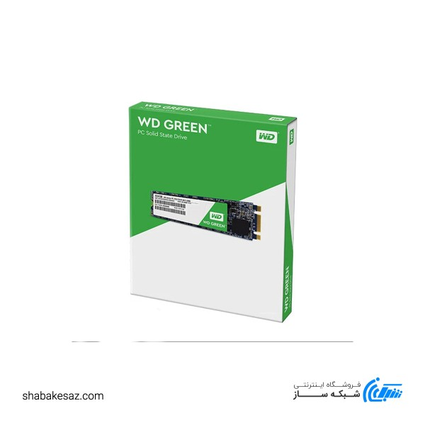 حافظه SSD وسترن دیجیتال مدل GREEN WDS120G1G0B ظرفیت 120 گیگابایت