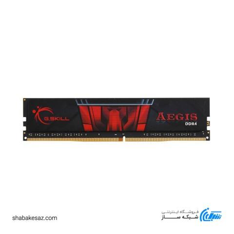 رم جی اسکیل DDR4 تک کاناله 2400 مگاهرتز AGEIS ظرفیت 4 گیگابایت