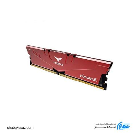 رم کامپیوتر DDR4 تیم گروپ مدل VULCAN Z Gaming ظرفیت 8 گیگابایت